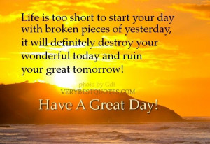 Its a New Day!!