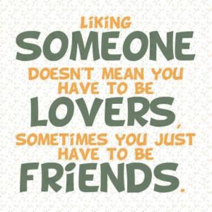 Liking Someone ~ღ~