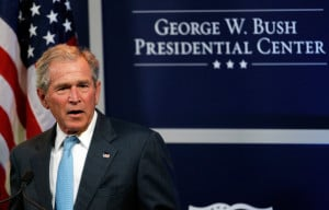George+W+Bush in Former President George W. Bush Hosts Economic ...