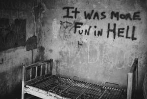 scary insane asylum
