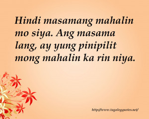 Love Quotes For Him Tagalog Sad