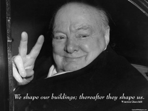 Winston Churchill Architecture Buildings Quotes Images, Pictures ...