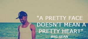 Rapper big sean sayings quotes and witty wisdom face heart