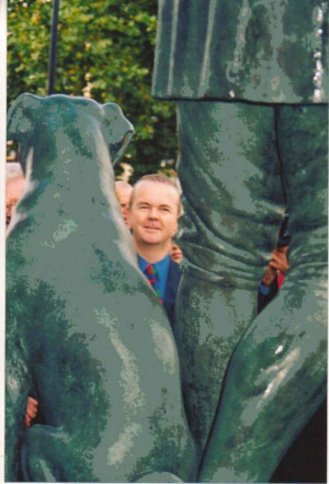 Ian Hislop after the ceremony