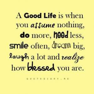 Blessed quotes about life blessed