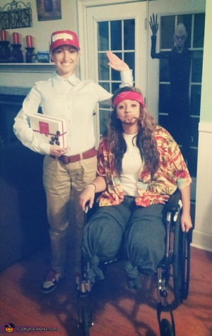 Forrest Gump and Lt. Dan - Homemade costumes for couples