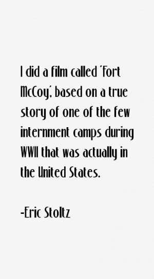 Eric Stoltz Quotes amp Sayings