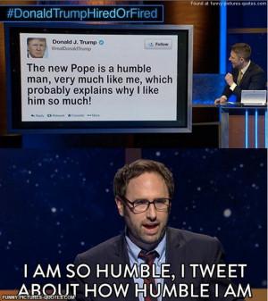 Jason Sklar on Donald Trump's pope tweet…