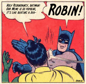 Batman And Robin Slap Meme