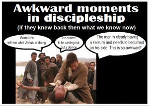 Biblically awkward demon possessions.