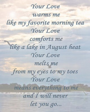 sweet love poems for your boyfriend image your love warm