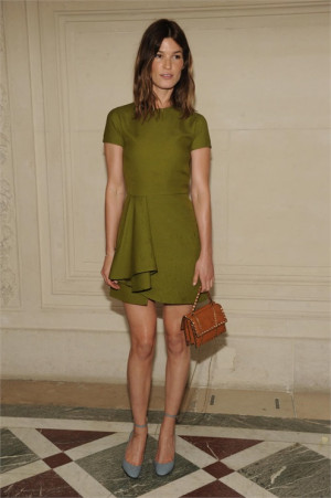 Hanneli Mustaparta in Valentino - Paris Fashion Week : Haute Couture ...