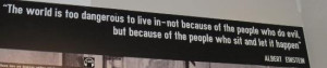 ... Photo: A quote from one of the leaders of the Warsaw Ghetto Uprising