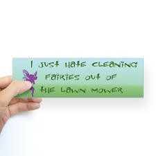 Cleaning Fairies Bumper Bumper Sticker