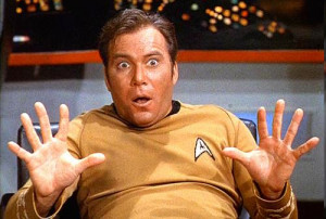 ... for Shatner to once again slip back into the role as James T. Kirk