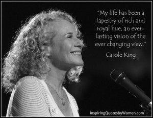 Carole King's Life is a Tapestry and now on Broadway