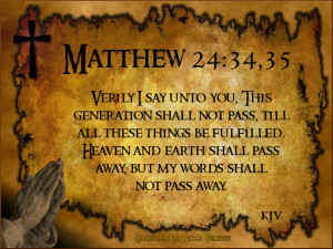 End Times Bible Verses