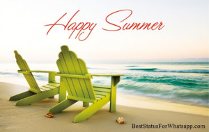 Hot Summer Status for Whatsapp & Facebook & Happy Summer Image