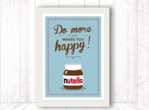Love Nutella Quotes Nutella necklace kawaii