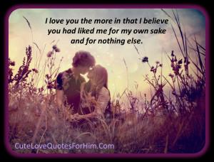 35+ Cute Romantic Quotes For Him