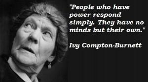 Ivy compton burnett famous quotes 3