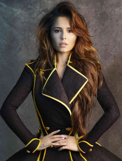 Cheryl Cole in an amazing dress.