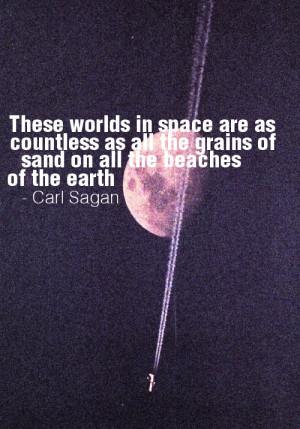 beauty quotes inspiration moon space nature universe carl sagan ...