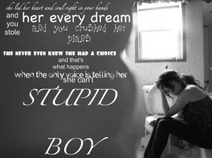 stupid boy - Keith Urban