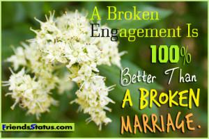 Broken Marriage Quotes