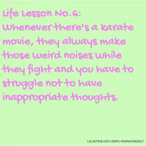 Life Lesson Whenever There...
