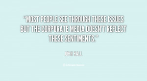 Most people see through these issues but the corporate media doesn't ...
