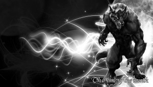 Alpha Coders Wallpaper Abyss Dark Werewolf 178656