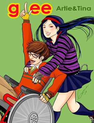 Glee Artie & Tina