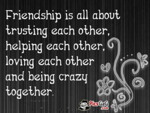 """Friendship Quote Picture To Know Meaning Of Friendship """"Friendship ..."""