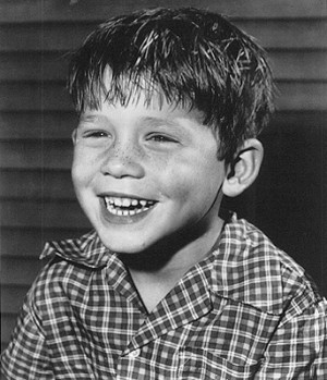 ron howard age eight as opie on the andy griffith show courtesy of ron ...