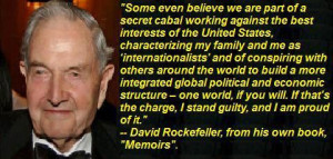 Rockefeller - New World Order Quotes Watch Here (warning ....turn the ...
