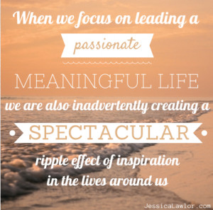 Inspirational Quotes Ripple Effect ~ The Spectacular Ripple Effect of ...