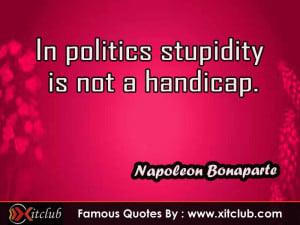 Thread: 15 Most Famous Quotes By Napoleon Bonaparte