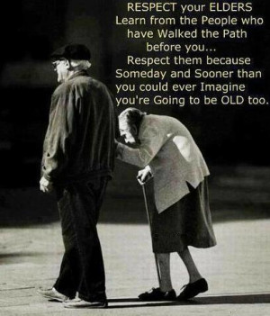 Introspective Picture on Respect : Respect your Elders learn ...