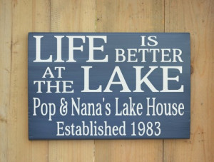 lake_signs_personalized_lake_house_life_is_better_at_the_lake_custom ...