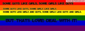 Gay Pride Quote! cover