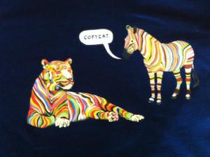 Copy Cat Quotes Zebra copycat size l