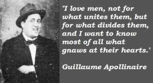 Guillaume apollinaire quotes 2