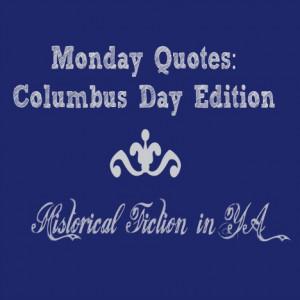 Monday Quotes: YA Historical Fiction