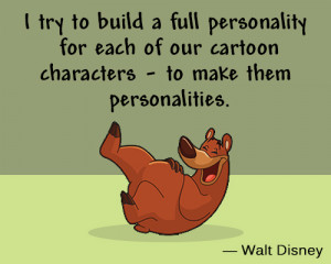 Disney Cartoon Character Quotes