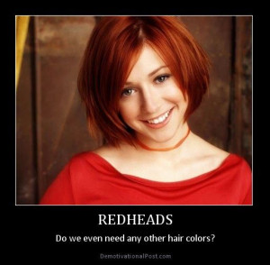 The beauty struggle of redheads