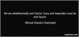 Anti Fascist Quotes