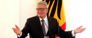 Bundespr sident Joachim Gauck Es ist ein langer Weg zur gelebten