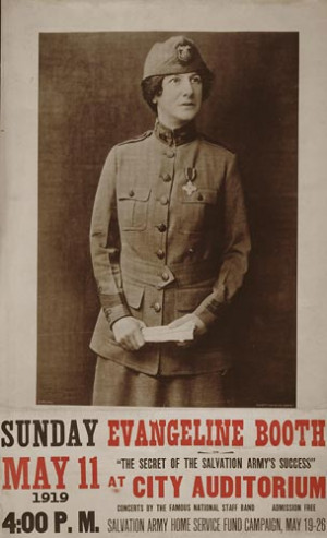 Evangeline Booth secret of the Salvation Army 39 s success City