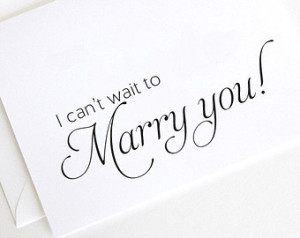 Can't Wait to Marry You Wedding Day Card, Husband to Be Cards (WD106 ...